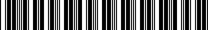 Barcode for N90900402